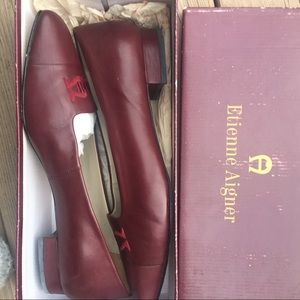 Etienne AIGNER shoes with box
